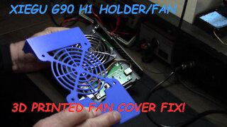 AirWaves Episode 52: Xiegu G90 3D Printed Fan Cover!