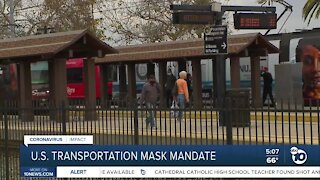 Federal mask requirement starts Monday