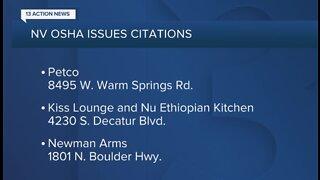 NV OSHA issues more COVID-19 citations