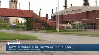 UAW representative demands shutdown of Dearborn Ford plant