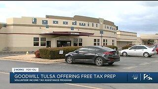Goodwill Tulsa offering free tax prep