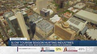 Slow tourism season hurting industries