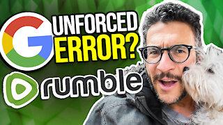 Google Files PARTIAL Dismissal of Rumble Lawsuit - Viva Frei Vlawg