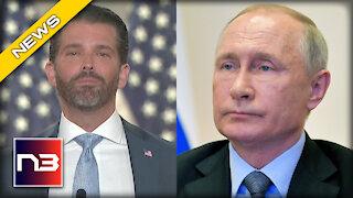 Don Jr. REACTS after Vladimir Putin Challenges Biden To A 'Live' Debate