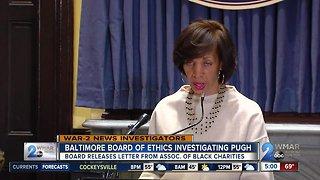 Baltimore Board of Ethics Investigating Mayor Pugh