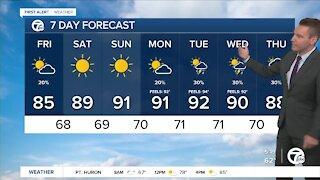 Metro Detroit Forecast: Weekend heat wave
