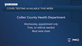 Collier County COVID-19 testing
