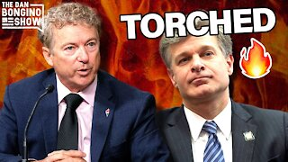 WATCH: Rand Paul TORCHES FBI's Christopher Wray