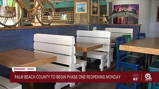 Palm Beach County entering Phase One