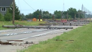 Significant storm damage in Fremont