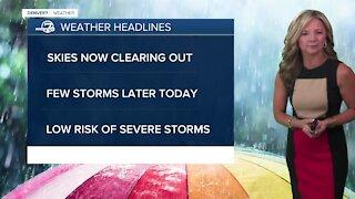Wednesday 5:15 a.m. forecast