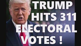 TRUMP 311 ELECTORAL VOTES 2020 ELECTION FRAUD HAMMER SCORECARD CIA DEEP STATE DOMINION SOFTWARE HAMR