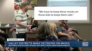More Valley school districts decide on their mask policy