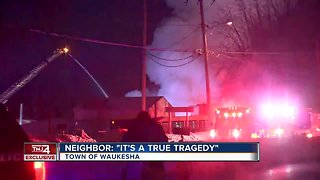 A father and two children killed in Waukesha house fire