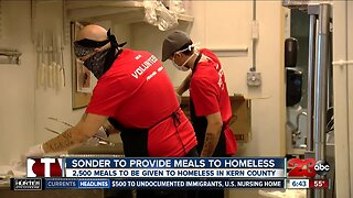 Sonder to provide meals to homeless