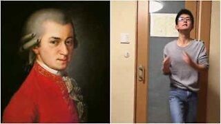 Hai mai sentito qualcuno suonare Mozart schioccando le dita?