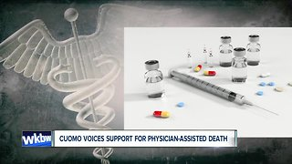 Gov. Cuomo supports legalizing physician assisted suicide
