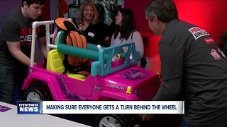 """Fisher price getting all children """"behind the wheel"""""""