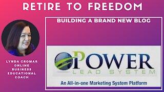 Building a brand new blog