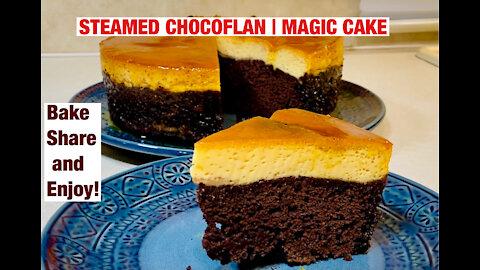 Steamed Chocoflan | Magic Cake
