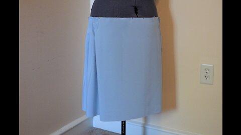 1920s Dress Tutorial Part 1- Skirt