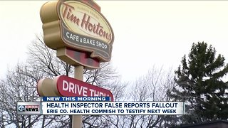 Hearing scheduled with Erie County Health Department over faked reports