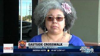 Residents, business owners express concern over eastside neighborhood crosswalk