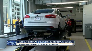 New center opens doors for automotive students