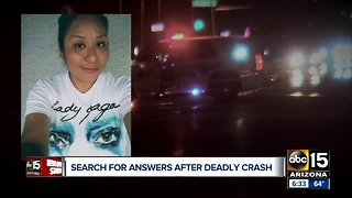 Family pleading for answers after deadly hit and run crash in Phoenix