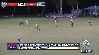 Marian University vs Keiser University