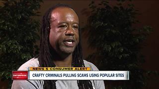 Crafty criminals pulling scams using popular sites