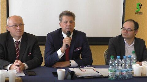 Prof. Wielomski, prof. Piotrowski, prof. Zajączkowski: panel Kongres Wolności w Lublinie 18.09.2021