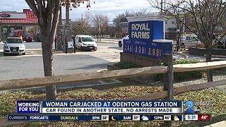 Woman injured in Royal Farms carjacking in Odenton