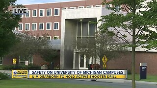 UM Dearborn to hold active shooter drill