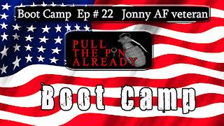 PTPA (Boot Camp Ep 22) Jonny - Air Force Veteran