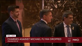 Charges dropped against former National Security Advisor Michael Flynn