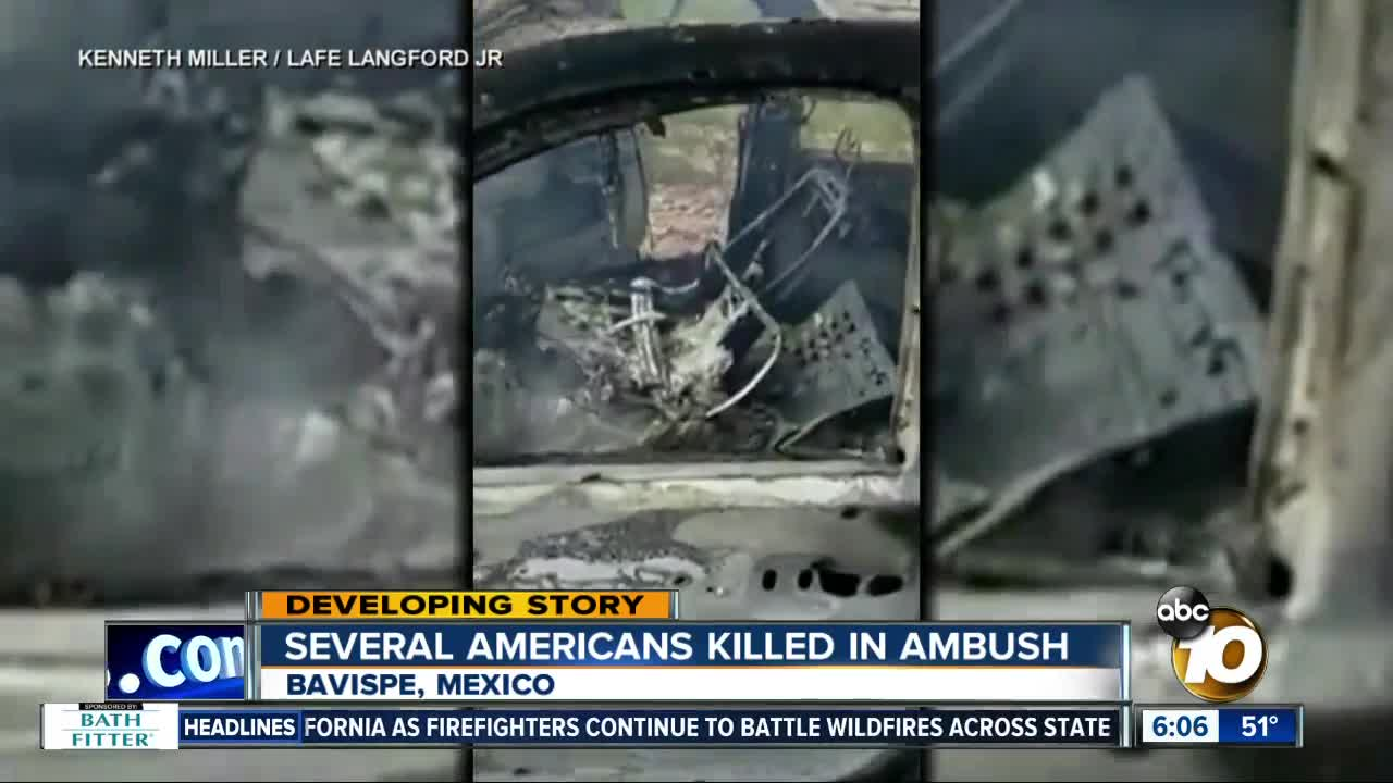 Mormon family members killed in attack in Mexico
