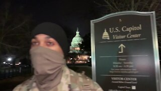 Military Police Surround U.S. Capitol, DC Under Military Occupation