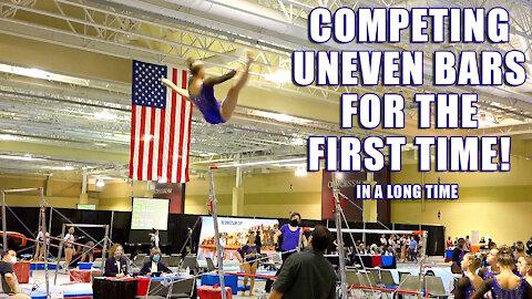 Whitney Bjerken | 1st Uneven Bars Competition in 21 Months | 3rd Level 10 Gymnastics Meet