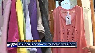 MADE IN IDAHO: Idaho Shirt Company fights hunger one T-shirt at a time