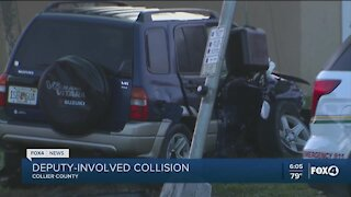 Deputy involved crash in Collier County
