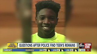 Remains of teenager Jabez Spann, missing since 2017, found