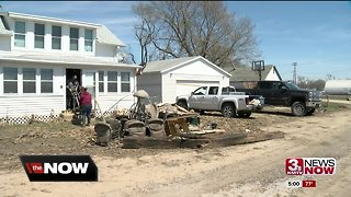 Pacific Junction families returning to see home damage