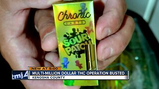 Multi-million dollar THC operation busted in Kenosha