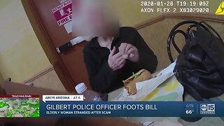 Gilbert officer helps elderly woman in need