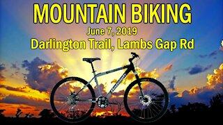 Mountain Biking on the Darlington Trail