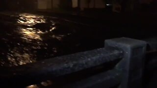Street flooding in McAlester