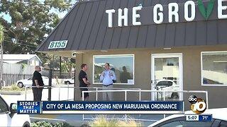City of La Mesa proposing new marijuana ordinance