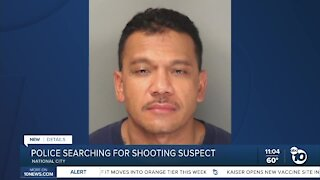 National City police searching for shooting suspect