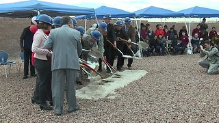 Nellis Air Force Base breaks ground on new school